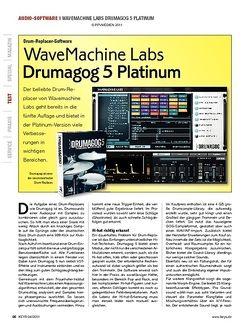KEYS WaveMachine Labs Drumagog 5 Platinum