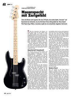 Guitar gear Bass - Fender Roger Waters Precision