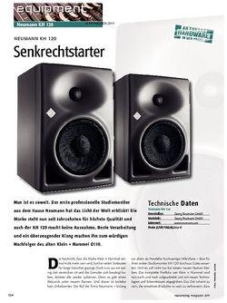 Recording Magazin Neumann KH 120