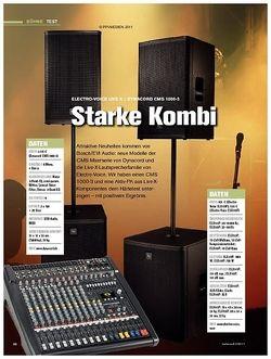 Tastenwelt Test: Electro-Voice Live X / Dynacord CMS 1000-3 - Starke Kombi