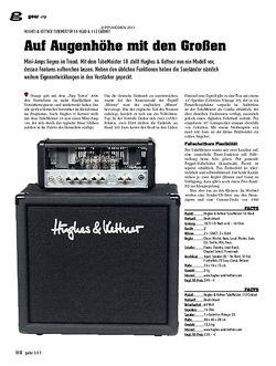 guitar Amp - Hughes & Kettner Tubemeister 18 Head & 112 Cabinet