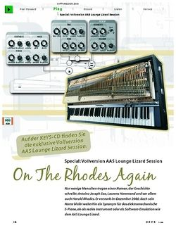 KEYS Special: On the Rhodes again