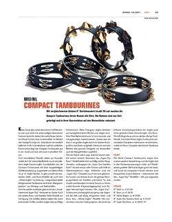 Sticks Meinl Compact Tambourines