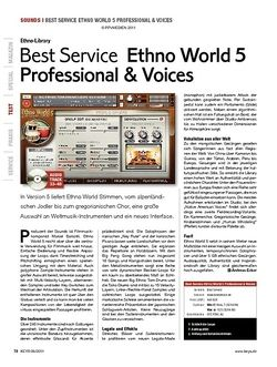 KEYS Best Service Ethno World 5 Professional & Voices