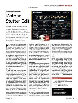 KEYS iZotope Stutter Edit