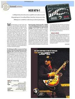 Guitar Test: MXR KFK-1