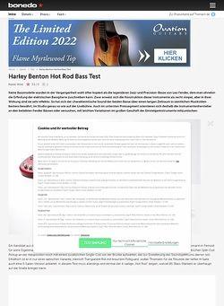 Bonedo.de Harley Benton Hot Rod Bass