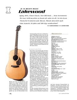 Gitarre & Bass Lakewood D-14 Heavey Relic Custom Guido Donot Signature