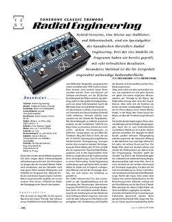 Gitarre & Bass Radial Engineering Tonebone Classic Trimode, Verzerrer