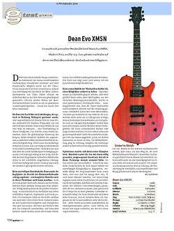 Guitar Test: Dean Evo XMSN E-Gitarre