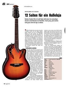 Guitar gear Akustikgitarre - Ovation Standard Elite 2758AX-NEB