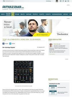Amazona.de Test: Allen & Heath, Xone DB4, Club-Mixer