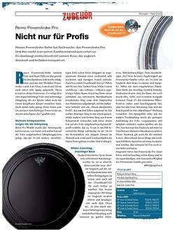 DrumHeads Instrumente & Technik - Test: Remo Powerstroke Pro