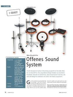 Soundcheck Test E-Drumset: 2Box DrimIt Five