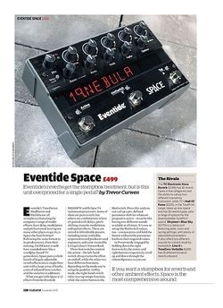 Guitarist Eventide Space