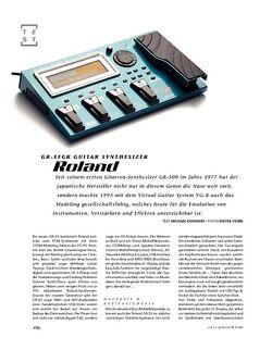 Gitarre & Bass Roland GR-55GK Guitar Synthesizer