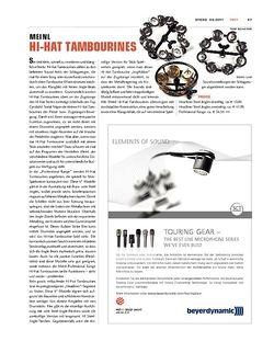 Sticks Meinl Hi-Hat Tambourines