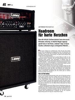 guitar gear Amp - Laney Ironheart IRT120H & IRT 412