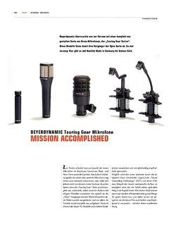 Sticks Beyerdynamic Touring Gear Drum-Mikrofone