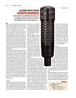 Sticks Electro Voice RE320 Mikrofon