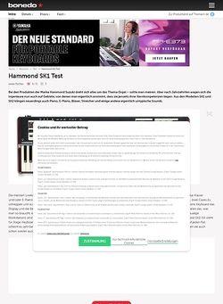 Bonedo.de Hammond SK1