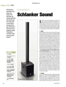 Tastenwelt Test: LD Systems MAUI 28 - Schlanker Sound