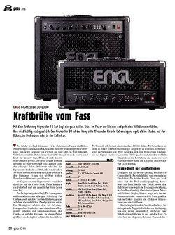 Guitar gear Amp - Engl Gigmaster 30 E300