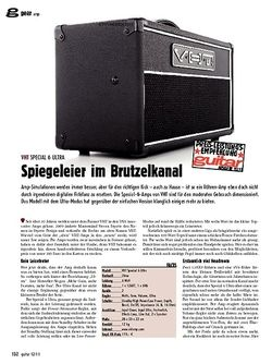guitar gear Amp - VHT Special 6 Ultra