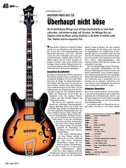 guitar gear Bass - Hagstrom Viking Bass TSB