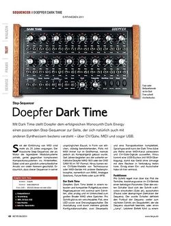KEYS Doepfer Dark Time