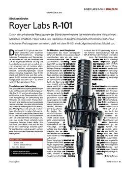 KEYS Royer Labs R-101
