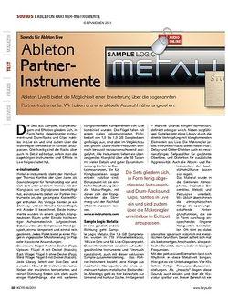KEYS Ableton Partner-Instrumente