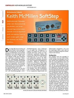 KEYS Keith McMillen SoftStep