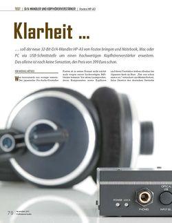 Professional Audio Fostex HP-A3