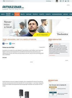 Amazona.de Test: KS Audio, Sat 3.0, Satelitten PA