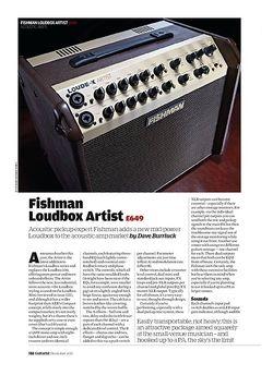 Guitarist Fishman Loudbox Artist