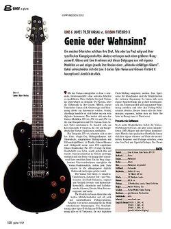 guitar gear E-Gitarre - Line 6 James Tyler Variax vs. Gibson Firebird X