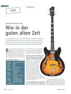 Soundcheck Test E-Bass: Hagstrom Viking Bass TSB
