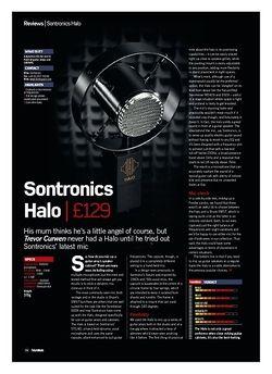 Future Music Sontronics Halo