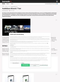Bonedo.de AudioEase Altiverb 7