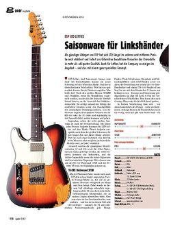 guitar ESP LTD Lefties