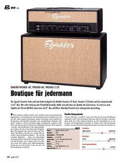 guitar gear Amp - Egnater Tweaker-40, Tweaker-88, Tweaker 212X