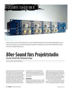 Sound & Recording Focusrite ISA 428 MkII: 4-Kanal-Preamp
