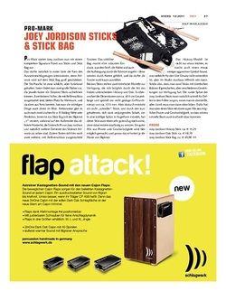 Sticks Pro-Mark Joey Jordison Sticks & Stick Bag