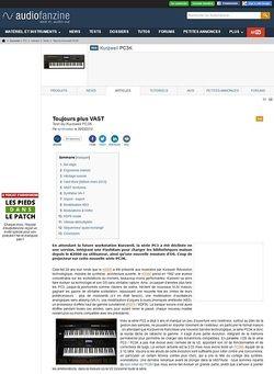 Audiofanzine.com Kurzweil PC3K