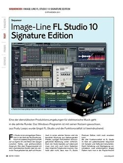 KEYS Image-Line FL Studio 10 Signature Edition