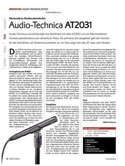 KEYS Audio-Technica AT2031