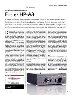 KEYS Fostex HP-A3