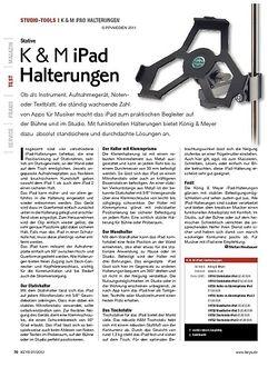 KEYS K & M iPad Halterungen