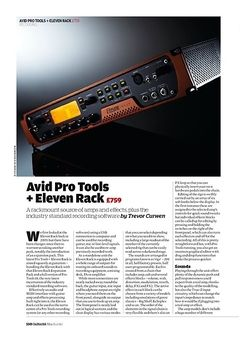 Guitarist Avid Pro Tools + Eleven Rack